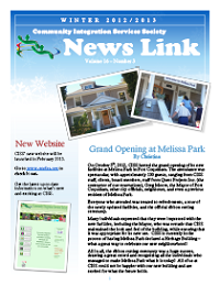 2012 Winter Newsletter